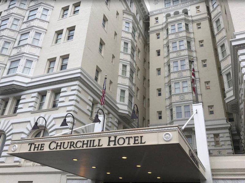 The Churchill Hotel near Embassy Row