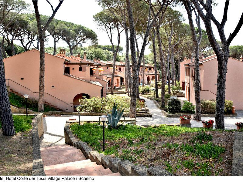 Hotel Palace Corte Dei Tusci & Residenz I Tusci