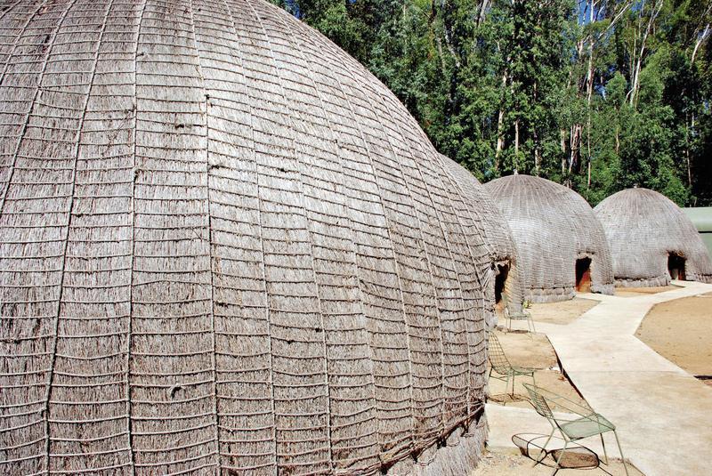 Mlilwane Rest Camp - Beehive Villages Nyala, Blesbok, Roan